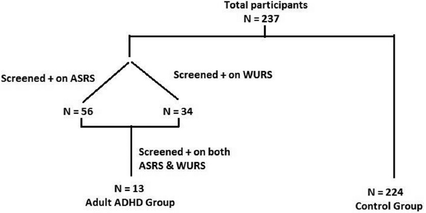 Cross Sectional Study Of Self Reported Adhd Symptoms And